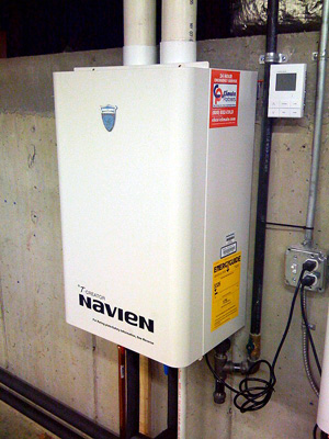 Tankless water heater installation & replacement in Ashburn